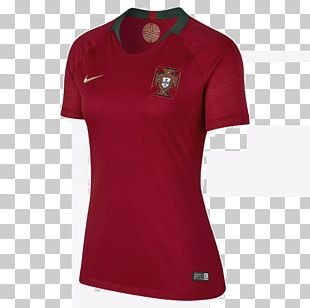 2018 FIFA World Cup Portugal National Football Team T-shirt Jersey PNG