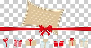 Christmas Gifts And Ribbons PNG