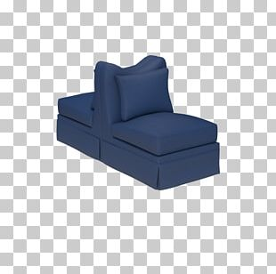 Couch Furniture Chair Cobalt Blue PNG
