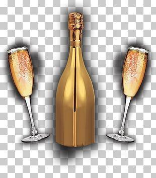 White Wine Champagne Glass Prosecco PNG