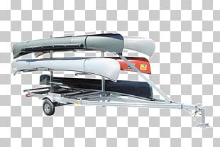 Boat Canoeing And Kayaking Paddle Trailer PNG