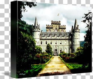 Inveraray Castle Château Middle Ages Medieval Architecture PNG