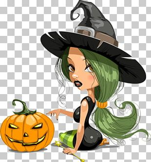 Halloween Calabaza Witch Day Of The Dead PNG