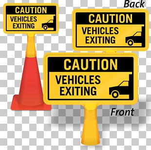 Traffic Sign Warning Sign Traffic Cone Vehicle PNG