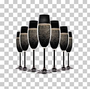 Champagne New Year's Eve PNG