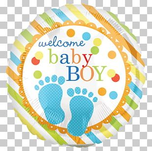 Balloon Infant Boy Baby Shower Child PNG