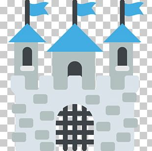 Emoji Castle Fortification Citadel Text Messaging PNG
