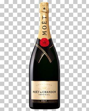 Moët & Chandon Champagne Moet & Chandon Imperial Brut Pinot Meunier Pinot Noir PNG