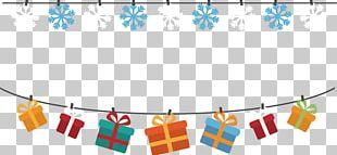 Christmas Gift Banner PNG
