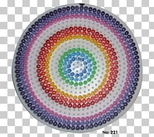 Symmetry Circle Tableware Pattern PNG