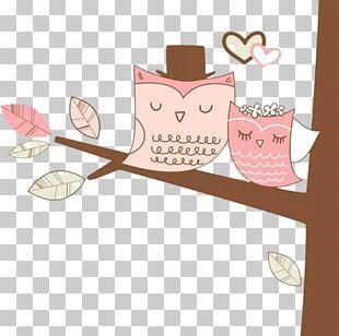 Wedding Invitation Owl Bridal Shower Bride PNG