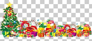 Christmas Tree Gift Santa Claus PNG