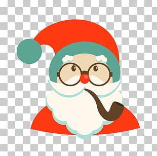 Santa Claus Christmas Cartoon Character PNG