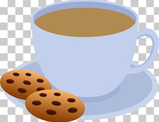 Tea Coffee Cupcake Chocolate Chip Cookie PNG