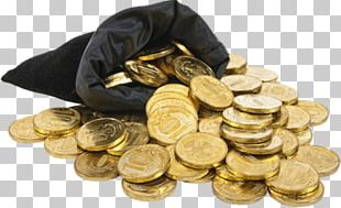 Coin Money Bag Gold PNG