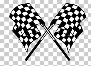 Go-kart Kart Racing Racing Flags Auto Racing PNG