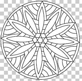 Mandala Drawing Coloring Book Child Circle PNG
