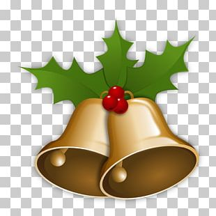 Christmas Candy Cane Jingle Bells PNG