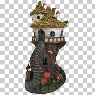 Gingerbread House Garden Tree House Fairy PNG