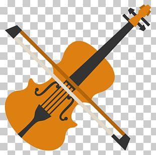 Violin Emoji Musical Instruments String Instruments Bow PNG