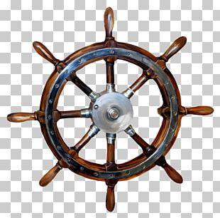 Ship's Wheel Boat Rudder PNG