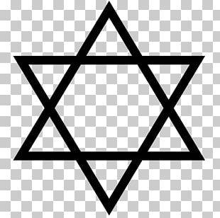Star Of David Judaism Jewish People Symbol PNG