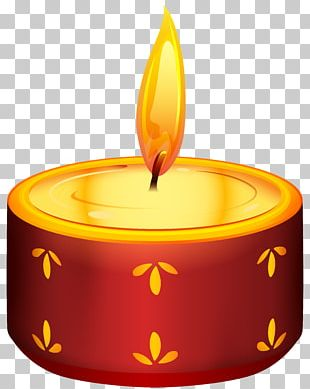 Diwali Candle Birthday Cake PNG