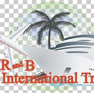 Long Beach Cruise Ship Brand Palm Trees No PNG