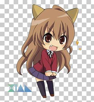 Taiga Aisaka Chibi Anime Kavaii Drawing PNG