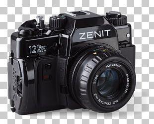 Digital SLR Photographic Film Camera Lens Зенит Single-lens Reflex Camera PNG
