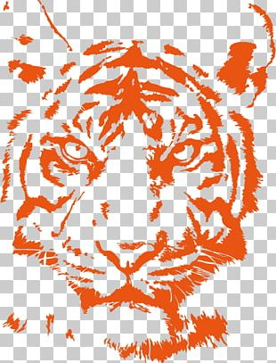 Lion Bengal Tiger Cat Logo PNG