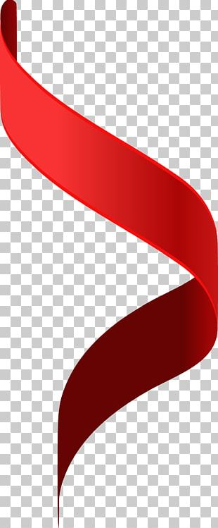 Red Ribbon User Interface PNG