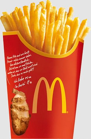 McDonald's French Fries McDonald's Chicken McNuggets Hamburger Fast Food PNG