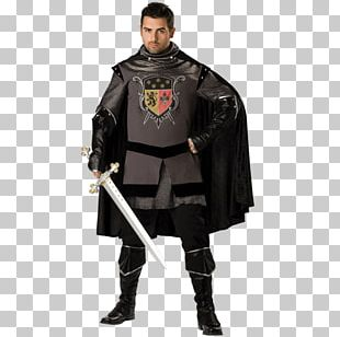 Middle Ages Renaissance Robe Halloween Costume PNG