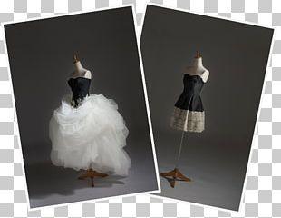 Contemporary Western Wedding Dress Bride PNG