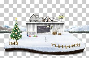 Christmas Snow Template PNG