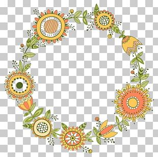 Floral Design Wreath Flower Greeting & Note Cards PNG