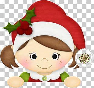 Christmas Elf Santa Claus PNG