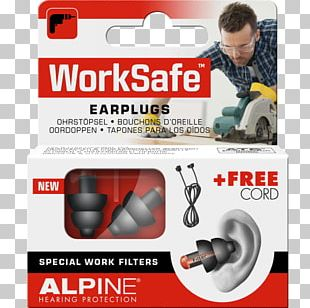 Earplug Hearing Protection Device Alpine Noise PNG
