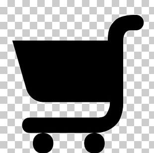 Silhouette Shopping Cart Supermarket Computer Icons PNG