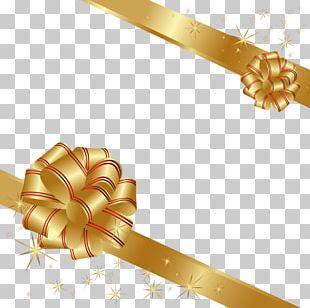 Gift Card Ribbon Christmas PNG