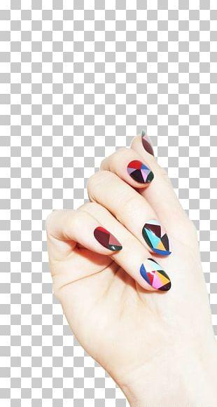 Nail Art Nail Polish Geometry PNG