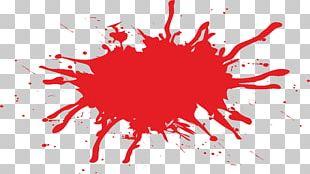 Blood Splatter Film PNG