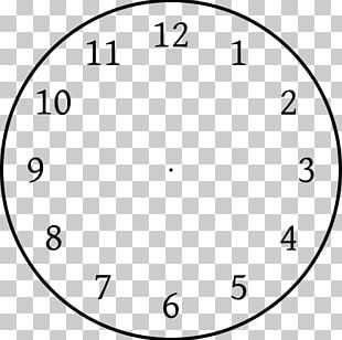 Clock Face Template Clock Position PNG