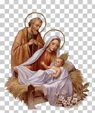 Mary Joseph And Jesus PNG