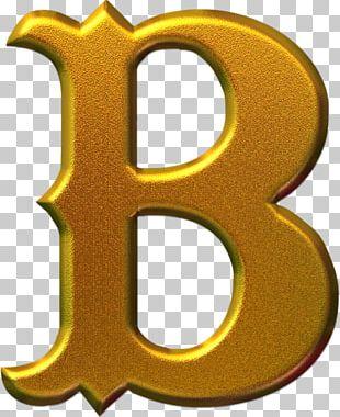 Letter Alphabet Gold Font PNG