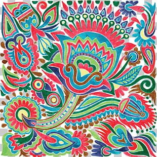 Floral Design Drawing Ethnic Group PNG
