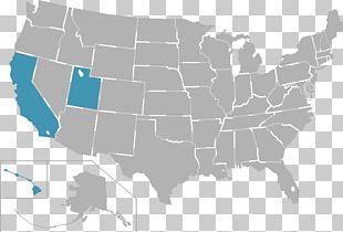 United States Of America Map U.S. State Confederate States Of America PNG