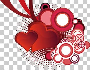 Valentines Day Heart Pattern PNG