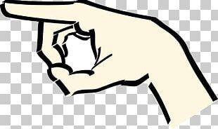 Index Finger Hand PNG